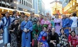 Gruppo in kimono