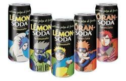 Lattine Lemonsoda di Naruto
