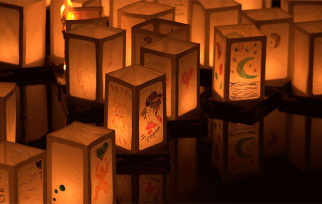 cerimonia delle lanterne